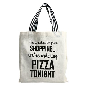 Pizza Tonight by Check Me Out - 100% Cotton Twill Gift Bag