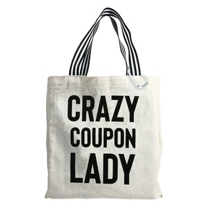 Coupon Lady by Check Me Out - 100% Cotton Twill Gift Bag