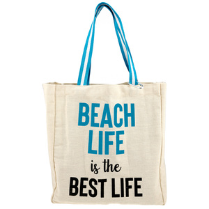 Beach Life by Check Me Out - 100% Cotton Twill Gift Bag