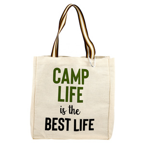 Camp Life by Check Me Out - 100% Cotton Twill Gift Bag