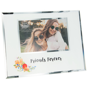 "Friends by Bunches of Love - 9.25"" x 7.25"" Frame (Holds 6"" x 4"" Photo)"
