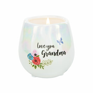 Grandma by Bunches of Love - 8 oz - 100% Soy Wax Candle Scent: Serenity