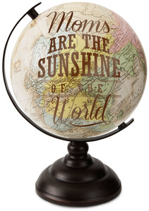"Mom by Global Love - 10.75"" Decorative Globe"