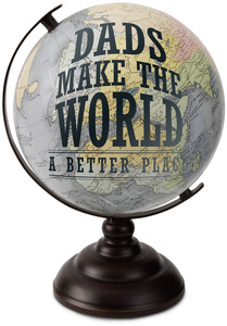 "Dad by Global Love - 10.75"" Decorative Globe"