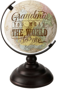 "Grandma by Global Love - 9.5"" Decorative Globe"
