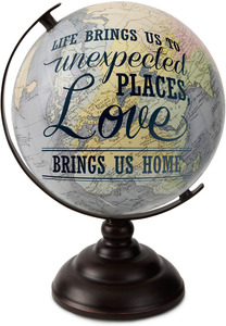 "Home by Global Love - 10.75"" Decorative Globe"