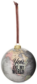 You are my World by Global Love - 100 mm Ornament