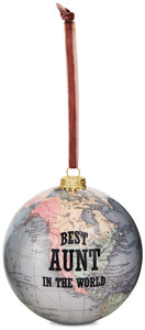 Aunt by Global Love - 100 mm Ornament