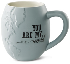 "You are my World by Global Love - 4.5"" - 22 oz. Mug"