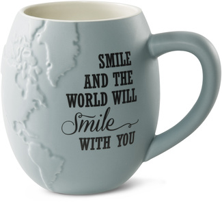 "Smile by Global Love - 4.5"" - 22 oz. Mug"
