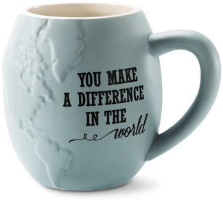 "You Make a Difference by Global Love - 4.5"" - 22 oz. Mug"