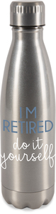 Retired by Happy Occasions - 18 oz Stainless Steel Water Bottle