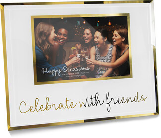 "Celebrate by Happy Occasions - 9.25"" x 7.25"" Frame (Holds 6"" x 4"" Photo)"