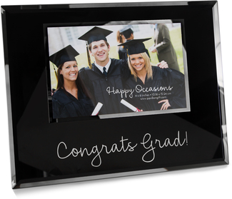 "Congrats by Happy Occasions - 9.25"" x 7.25"" Frame (Holds 6"" x 4"" Photo)"