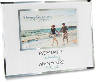 "Relaxed by Happy Occasions - 9.25"" x 7.25"" Frame (Holds 6"" x 4"" Photo)"