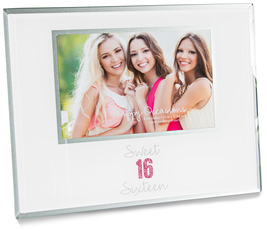 "Sixteen by Happy Occasions - 9.25"" x 7.25"" Frame (Holds 6"" x 4"" Photo)"