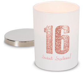 Sixteen by Happy Occasions - 7oz 100% Soy Wax Candle Scent: Citron de Vigne