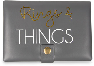 "Rings by Happy Occasions - 6"" x 4"" x 1.75"" Jewelry Case"