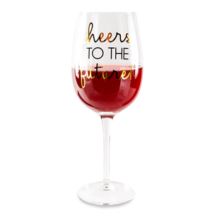 Cheers by Happy Occasions - 16 oz. Crystal Wine Glass