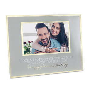 "Beside You by Happy Occasions - 9.25"" x 7.25"" Frame (Holds 6"" x 4"" Photo)"