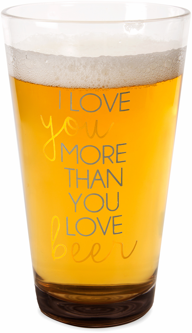 Beer by Happy Occasions - Beer - 16 oz Pint Glass Tumbler