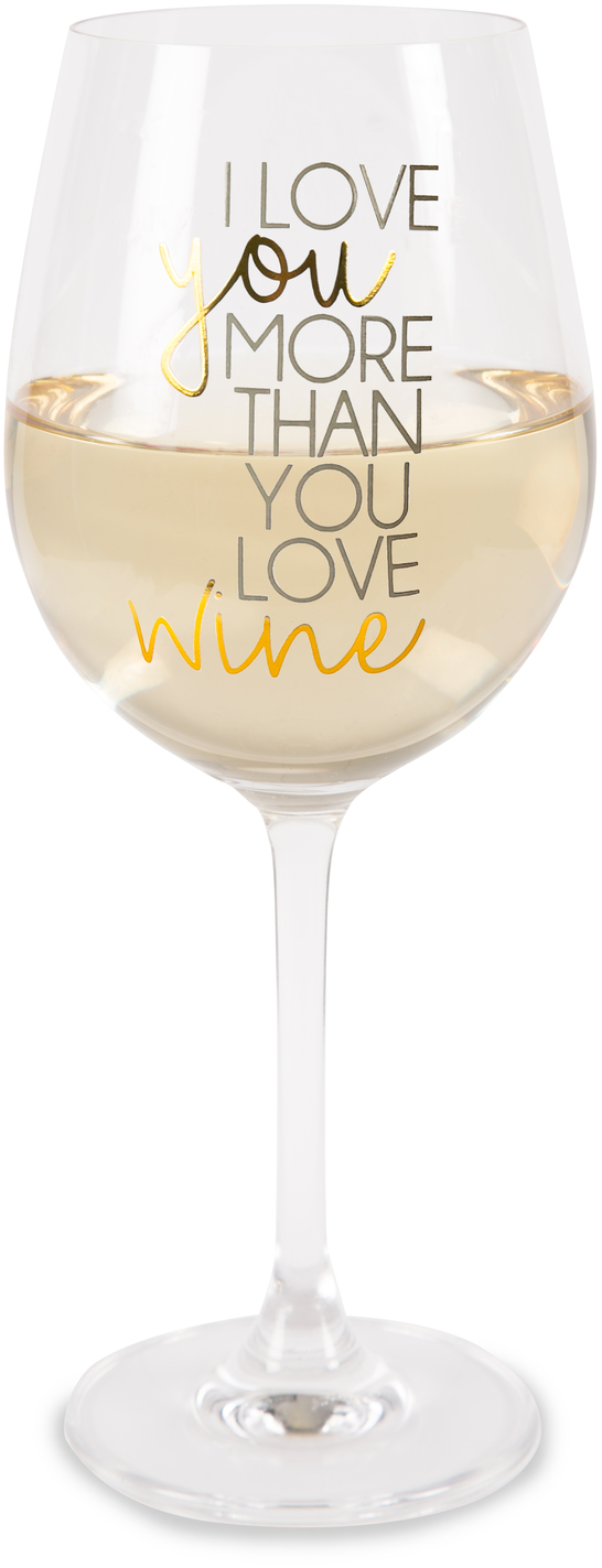 Wine by Happy Occasions - Wine - 16 oz. Crystal Wine Glass