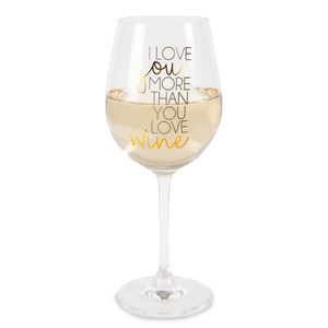 Wine by Happy Occasions - 16 oz. Crystal Wine Glass