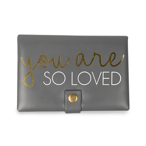 "So Loved by Happy Occasions - 6"" x 4"" x 1.75"" Jewelry Case"