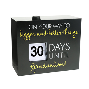 "Graduation by Happy Occasions - 4.5"" Countdown Calendar"