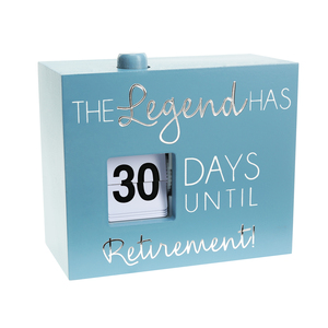 "Retirement by Happy Occasions - 4.5"" Countdown Calendar"
