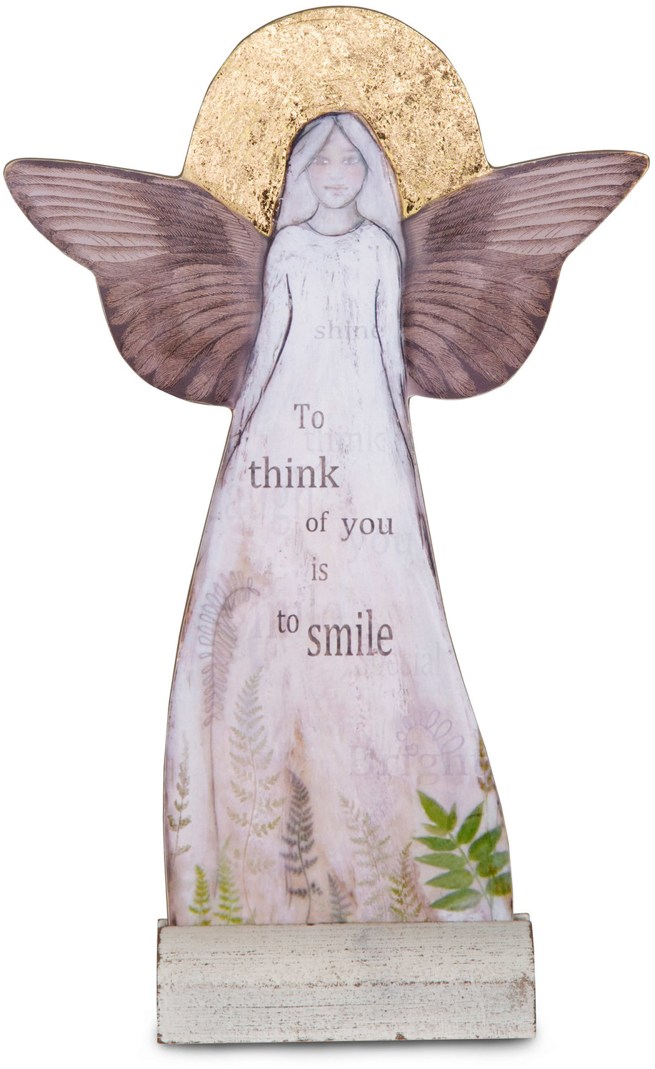 "Thinking of You by Sherry Cook Studio - Thinking of You - 11.5"" Self-Standing Angel"