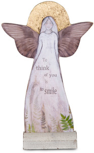 "Thinking of You by Sherry Cook Studio - 11.5"" Self-Standing Angel"
