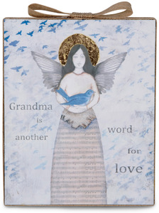 "Grandma by Sherry Cook Studio - 6.5"" x 5.25"" Plaque"