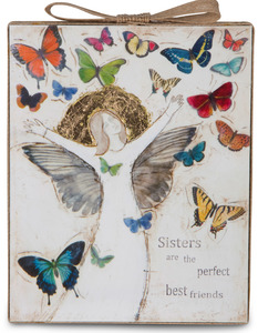 "Sister by Sherry Cook Studio - 6.5"" x 5.25"" Plaque"
