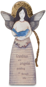 "Grandma by Sherry Cook Studio - 5.5"" Angel  Ornament"