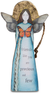 "Friend by Sherry Cook Studio - 5.5"" Angel  Ornament"