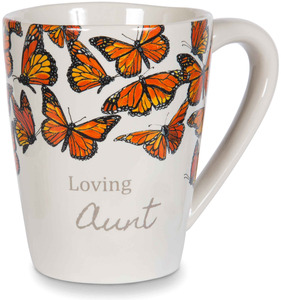 Aunt by Sherry Cook Studio - 12 oz Monarch Butterfly Mug
