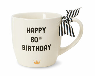 60th Birthday by The Milestone Collection - 12 oz Mug
