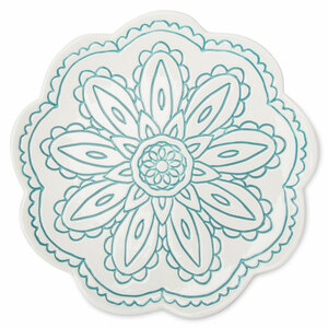 "Teal by Cinnamon Swirl - 7"" Decorative Dish"