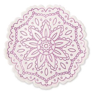 "Purple by Cinnamon Swirl - 6"" Decorative Dish"