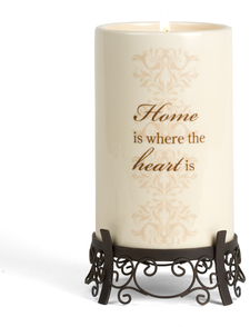 "Home by Simply Stated - 7.5"" Container w/Stand"