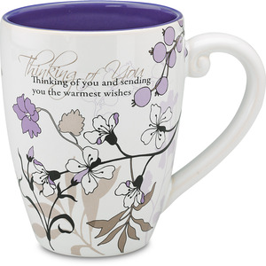 Thinking of You by Mark My Words - 20 oz Cup