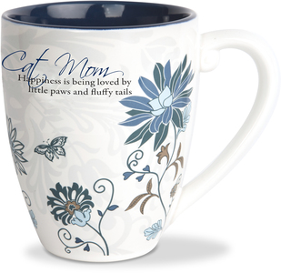 Cat Mom by Mark My Words - 20 oz Cup