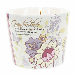 Grandmother by Mark My Words - 8 oz Soy Wax Candle Scent: Tranquility
