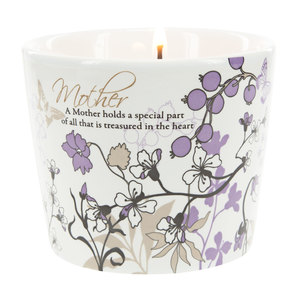 Mother by Mark My Words - 8 oz Soy Wax Candle Scent: Tranquility