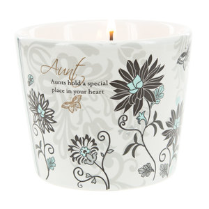 Aunt by Mark My Words - 8 oz Soy Wax Candle Scent: Tranquility