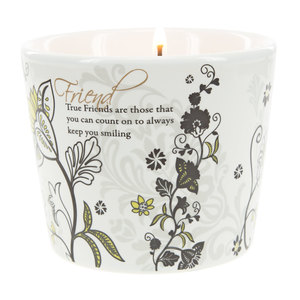 Friend by Mark My Words - 8 oz Soy Wax Candle Scent: Tranquility