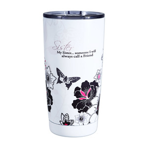 Sister by Mark My Words - 20 oz. Travel Tumbler