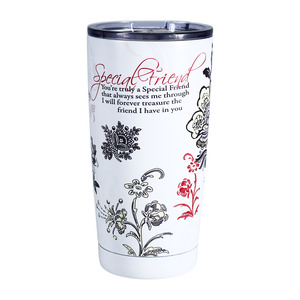 Special Friend by Mark My Words - 20 oz. Travel Tumbler