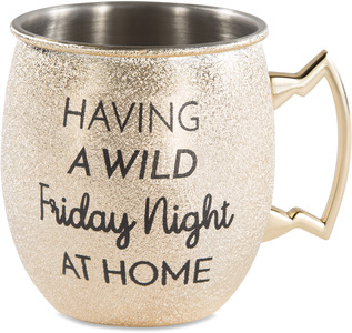 Friday Night by My Kinda Girl - 20 oz Stainless Steel Moscow Mule